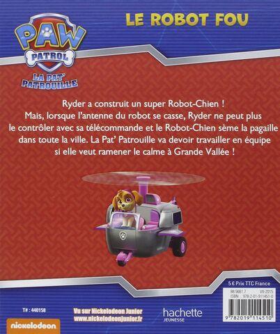 File:PAW Patrol La Pat' Patrouille Le robot fou Back Cover.jpg