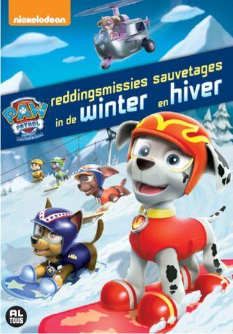 File:PAW Patrol Winter Rescues DVD Belgium-Netherlands.jpg