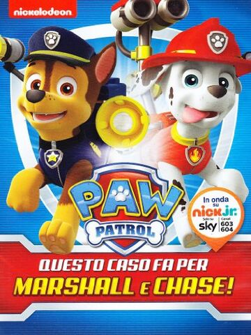 File:PAW Patrol Marshall and Chase on the Case! DVD Italy.jpg