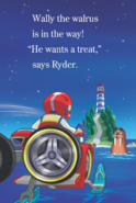 PAW Patrol - Wally the Walrus - Chase is on the Case Book