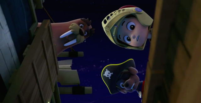 File:PAW Patrol Ryder Zuma Wally the Walrus Pups and the Ghost Pirate.png