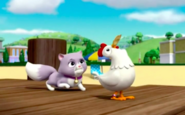 PAW Patrol Pups Save a Chicken of the Sea Scene Cali Chickaletta