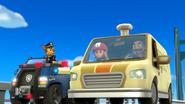 Ryder and Mr. Porter in Van