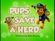 Pups Save a Herd SD