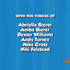 Dubbing cast credits (part 2) from Season 2 Episode 14 on Nick Jr.