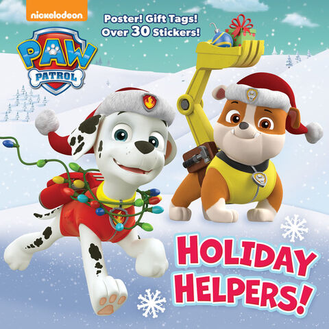 File:PAW Patrol Holiday Helpers! Book Cover Art.jpg