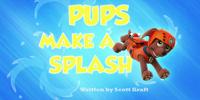 Pups Make a Splash