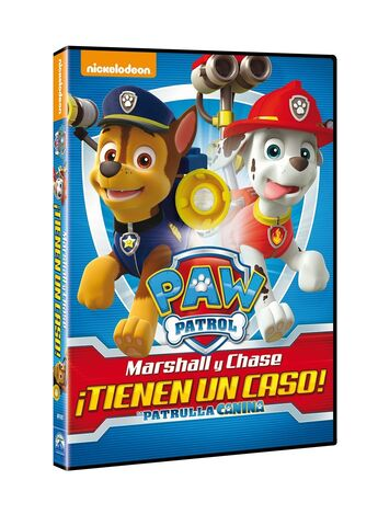 File:PAW Patrol Marshall and Chase on the Case! DVD Spain.jpg