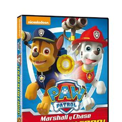 Spanish cover (<i>¡Marshall y Chase tienen un caso!</i>)