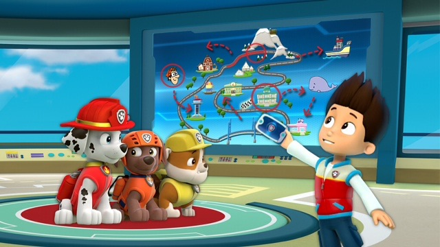 "File:PAW Patrol New Promo Image for ""Longest Mission"" Clip Ryder Rubble Marshall Zuma.jpg"