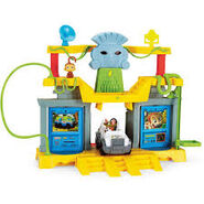 Monkey temple playset 2