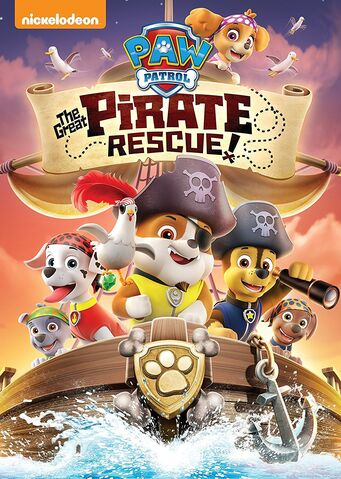 File:PAW Patrol The Great Pirate Rescue! DVD.jpg