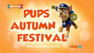 PAW Patrol Pups Autumn Festival