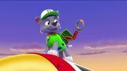 PAW Patrol Monkey-naut Scene Rocky