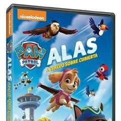 Spanish cover (<i>Alas a salvo sobre cubierta</i>)