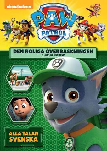 File:PAW Patrol Den roliga överraskningen & andra äventyr DVD.jpg