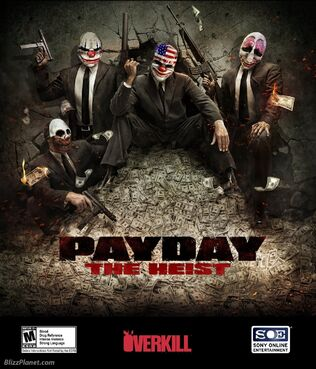 PAYDAY The Heist Cover