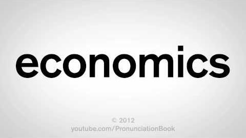 How to Pronounce Economics