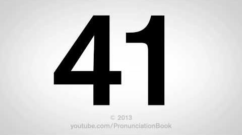 How to Pronounce 41