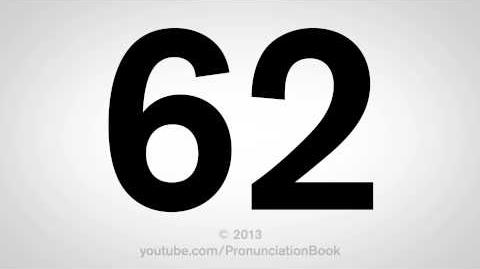 How to Pronounce 62