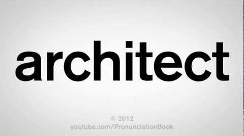 How to Pronounce Architect