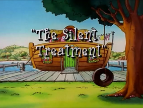 The Silent Treatment english title card