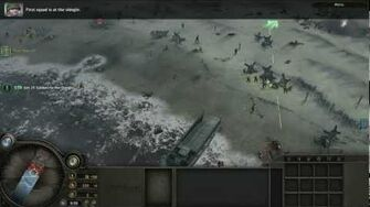 Company of Heroes- Mission 1- Omaha Beach