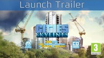 Cities Skylines - Launch Trailer HD 1080P 60FPS