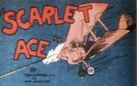Scarlet ace plane