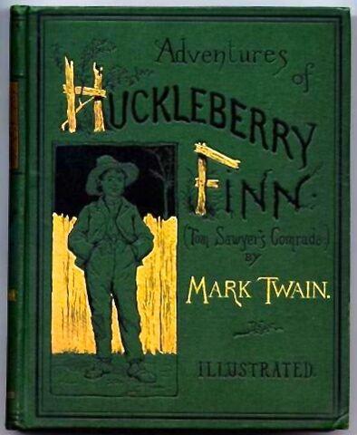 File:Huckleberry Finn book.jpg