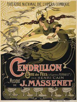 Émile Bertrand - Jules Massenet - Cendrillon poster