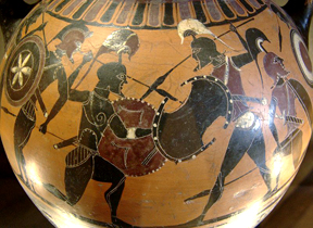 Amphora warriors
