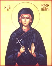 St.cleopatra icon