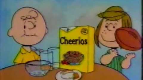 1985 Cheerios Cereal Commercial (with the Peanuts gang)-0