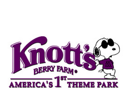 Knott's berry farm logo with snoopy.png