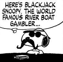 Blackjack Snoopy