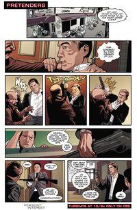 4x06 - Pretenders Comic
