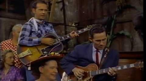 Chet Atkins--Pickin The Blues, 1950s Color!