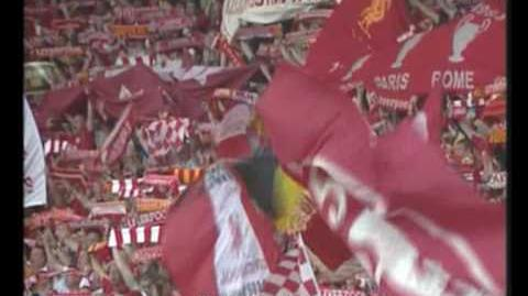 Liverpool Fans live You`ll never walk alone