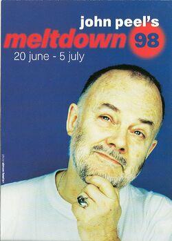 John Peel's Meltdown 1998 1