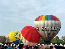 Penang Hot Air Balloon Fiesta, Polo Ground, George Town, Penang