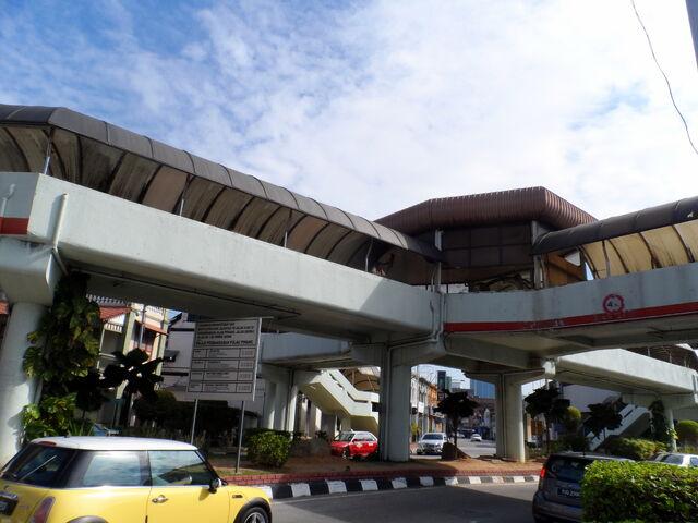 File:Octopus Footbridge, Penang Road, George Town, Penang.JPG