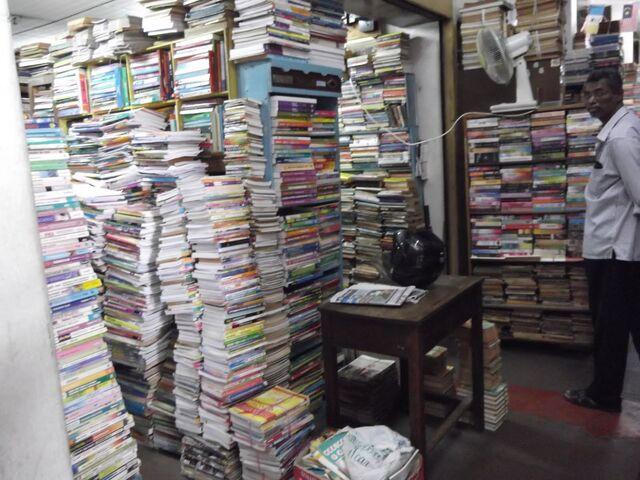 File:Chowrasta Market bookstores, George Town, Penang.JPG