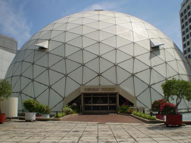 File:KOMTAR Geodesic Dome, George Town, Penang.jpg