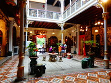 Pinang Peranakan Mansion courtyard, George Town, Penang