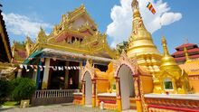 Dhammikarama-Burmese-Buddhist-Temple, George Town, Penang