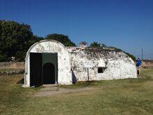 Fort Cornwallis munitions storeroom, George Town, Penang