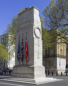 The Cenotaph, Whitehall, London