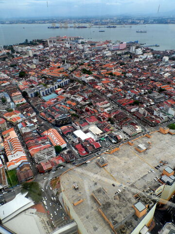 File:View from KOMTAR 59 Sixty Restaurant, George Town, Penang.JPG