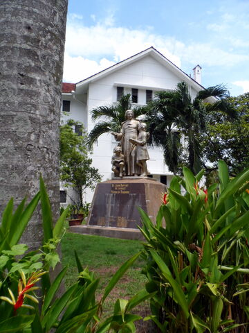 File:Jean Baptiste de La Salle Memorial, Farquhar Street, George Town, Penang.JPG